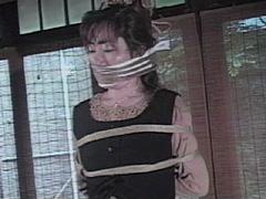 【エロ動画】美貌監禁縛り・よしみ縄凌辱のエロ画像
