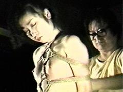 【エロ動画】濡木痴夢男緊縛美外伝4 広咲千絵〜荒縄網縄拷問縛りのSM凌辱エロ画像