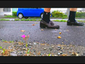 【復刻版】カタツムリがローファーで踏み潰される!2 7