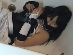 スク水と窒息