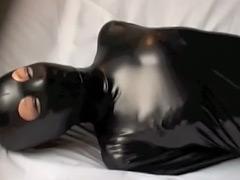 【エロ動画】ラバマくすぐり**責め!のエロ画像
