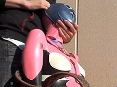 【エロ動画】エヴァマリラバー拘束**プレイ!2ndのエロ画像