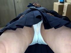 女子校生 ドアップ食い込みパンティ! Vol.2