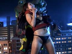 【エロ動画】巨大女 第4巻のエロ画像