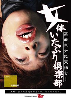 「女体いたぶり倶楽部 11 女怪盗編」のパッケージ画像