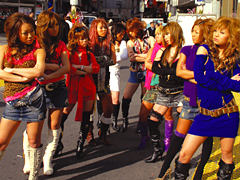 クンニ動画|渋谷BLACK VS 池袋BLACK ギャルサーが全面抗争
