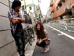 【エロ動画】街頭リモコンバイブで濡れ濡れになリませんか?のエロ画像