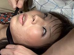 【エロ動画】華奢な喉頸に巻き付き極責めのエロ画像