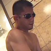 浴場で欲情
