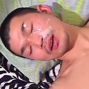 ガンガン顔射 ゲンマ特選顔射6連発4