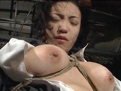 【エロ動画】KINBAKU〜緊縛〜2のSM凌辱エロ画像