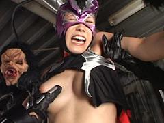 【エロ動画】覆面剣士コンドルレディのエロ画像