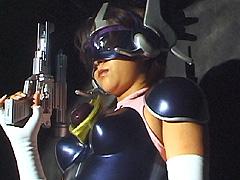 【エロ動画】サイバー戦隊ジャスティオン3のエロ画像