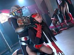 【エロ動画】女戦闘員デスマーチ 後編 - コスプレ本番動画