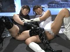 【エロ動画】黒き魔装の誘惑7 科学特捜隊バードファイター