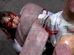 【エロ動画】美少女仮面ルクール 舌舐め絶頂地獄 - コスプレ本番動画
