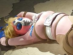 【エロ動画】ヒロインくねくね緊縛 ミスハート編のエロ画像