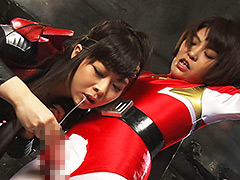 【エロ動画】美少年ヒーロー凌辱 炎の戦士フレイムレッドのエロ画像