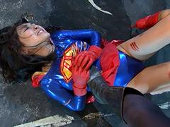 【エロ動画】スーパーヒロインドミネーション地獄 アクセルガールのエロ画像