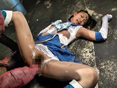 【エロ動画】セーラー戦士 触手溶解凌辱のエロ画像