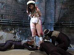 【エロ動画】美少女仮面オーロラ チェリープリンセスのエロ画像