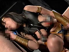 【エロ動画】ヒロイン乳辱 ワンダーレディーのエロ画像