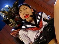 【エロ動画】SUPER HEROINE アクションウォーズ 一条烈花のエロ画像