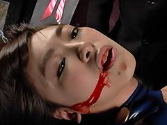 【エロ動画】ヒロインピンチ 〜ラバーヒロインと閉じた空間〜のエロ画像