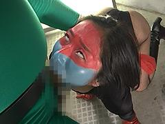 【エロ動画】女戦闘員ディスティーノのエロ画像