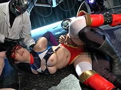 【エロ動画】SPANDEXER 2 暴かれた弱点!コスモエンジェル正体発覚のエロ画像
