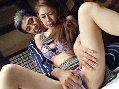【エロ動画】近親相姦遊戯 父と嫁 其の壱 橘美紗のエロ画像