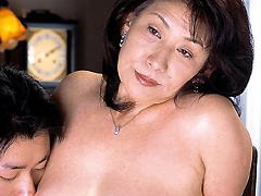 【エロ動画】近親相姦遊戯 母と子 6巻 夏目静子のエロ画像