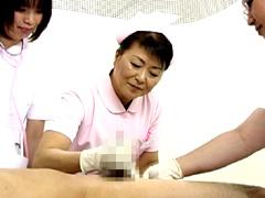 【エロ動画】熟女看護師 (秘)治療クリニック 松岡貴美子58歳のエロ画像