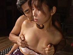 【エロ動画】近親相姦遊戯 父と嫁 其の八 中川ルナのエロ画像