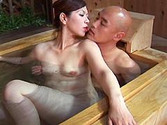 中出しソープ 麗しの熟女湯屋 翔田千里