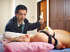 【エロ動画】M的妻 山咲樹里の人妻・熟女エロ画像