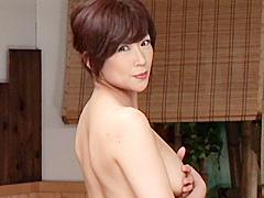 【エロ動画】中出しソープ 麗しの熟女湯屋 青木美里の人妻・熟女エロ画像