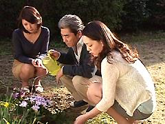 【エロ動画】近親相姦遊戯 ふたりの嫁 其の壱のエロ画像