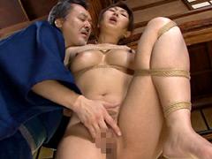 【エロ動画】緊縛近親相姦 調教される嫁1 伊織涼子のエロ画像