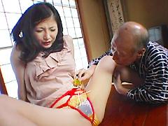 【エロ動画】禁断介護9 〜縄嫁と義父の性〜のエロ画像
