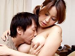 近親相姦 潤愛の巨乳母 響鳴音:近親相姦
