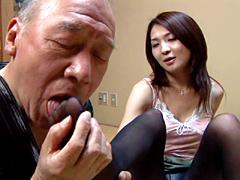 【エロ動画】禁断介護18 〜義父と未亡人嫁の性〜のエロ画像