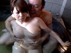【エロ動画】人妻恥悦旅行 風間ゆみの人妻・熟女エロ画像