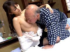 【エロ動画】禁断介護 青木美空のエロ画像