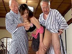 【エロ動画】禁断介護 さとう遥希のエロ画像