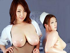 【エロ動画】ムッチリ総合病院 青木りん&細川まりのエロ画像
