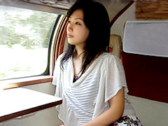 【エロ動画】寝台列車の不倫旅 真矢恭子の人妻・熟女エロ画像
