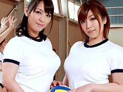 葉月奈穂|巨乳ママさんバレー部合宿5