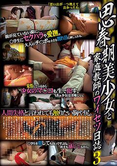【宝生瑠璃動画】思春期ロリ美女と家庭教師のワイセツ日誌3-ロリ系