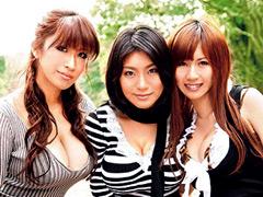 高島恭子|巨乳Walker 爆乳3人娘と露出&乱交のおっぱいグルメ